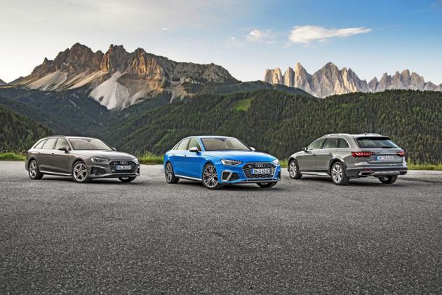 Modernizace zasáhla všechny verze typové řady A4, tedy včetně zvýšeného A4 Allroad Quattro isportovního S4TDI