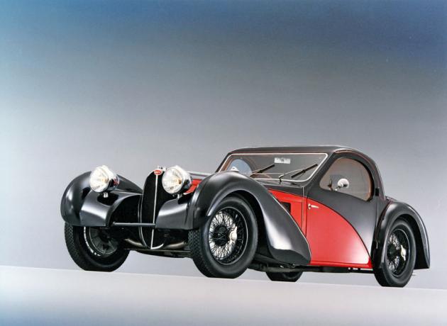 Bugatti 57 SC Atalante, jiné legendární osmiválcové kupé zkonce třicátých let