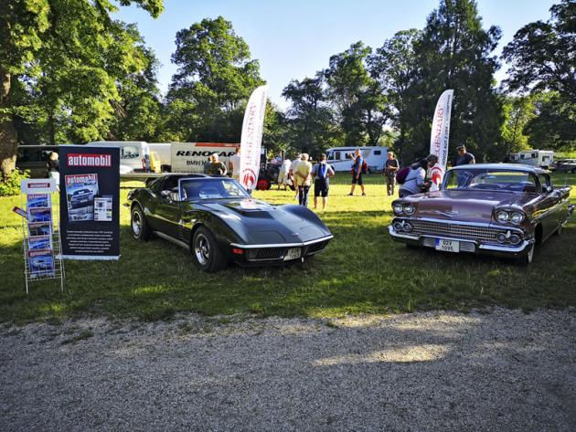 Na našem společném stánku s firmou Legendary našli příchozí takékrásnou Corvette C3