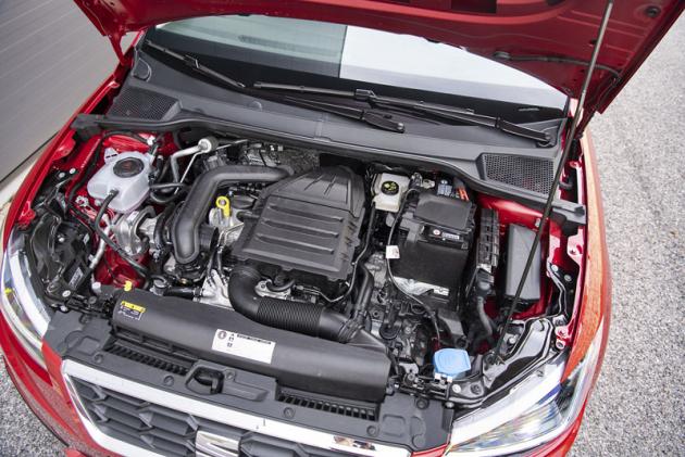 Motor 1.0 TSI ovýkonu 85 kW (115) je pro vůz této velikosti velmi příjemným zdrojem síly