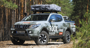 Mitsubishi L200 Rock Proof
