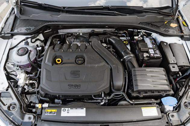 Čtyřválec 1.5 TSI evo byl s ohledem na spalování CNG dále upraven. Na rozdíl od jiných jednotek TSI nepotřebuje filtr pevných částic
