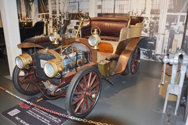 Fiat 16/20 HP (1903), čtyřválec 4179 cm3 (20 k)