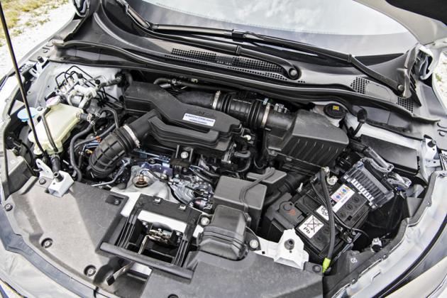 Přeplňovaný čtyřválec 1,5 litru zaujme výkonem 134 kW (182), celkovým projevem ispotřebou paliva, omezuje jej ale převodovka CVT