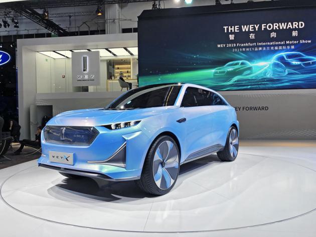 Wey je prémiová značka koncernu Great Wall. Studie Wey-X je představou společnosti onovém elektrickém SUV, jež by se mělo prodávat po celém světě