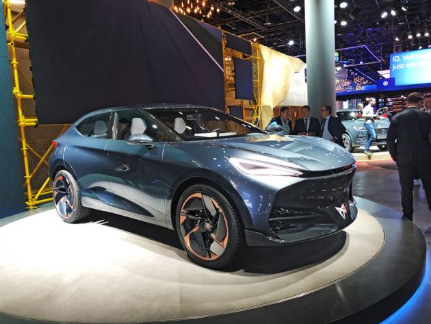 Cupra Tavascan je představou nové značky o výrazném SUV-kupé selektrickým pohonem