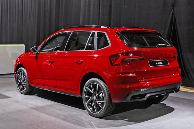 Škoda kromě již známých elektrifikovaných modelů iV představila verze Monte Carlo modelových řad Scala a Kamiq