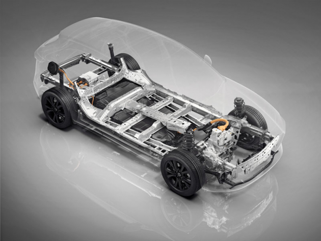 Elektrická Mazda bude využívat platformu Skyactiv X známou z typů Mazda 3 a CX-30. Elektromotor pohání přední kola