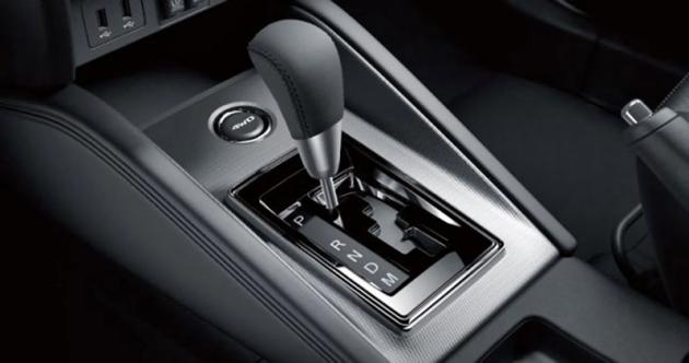 Nový motor lze kombinovat s bezestupňovou převodovkou, která je standardem ve spojení s pohonem všech kol