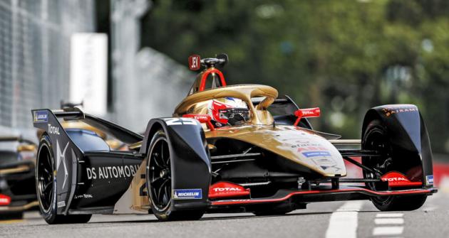 Jean-Eric Vergne (DS E-Tense FE19) je prvním závodníkem, který získal dva mistrovské tituly v elektrické formuli