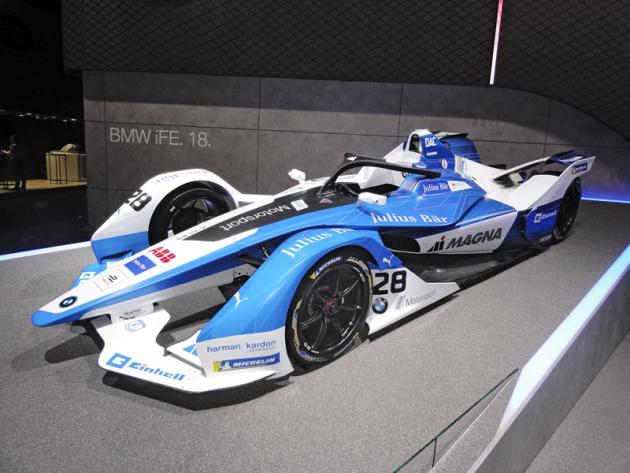 Vozy BMW iFE.18 druhé generace nasazuje tým Michaela Andrettiho