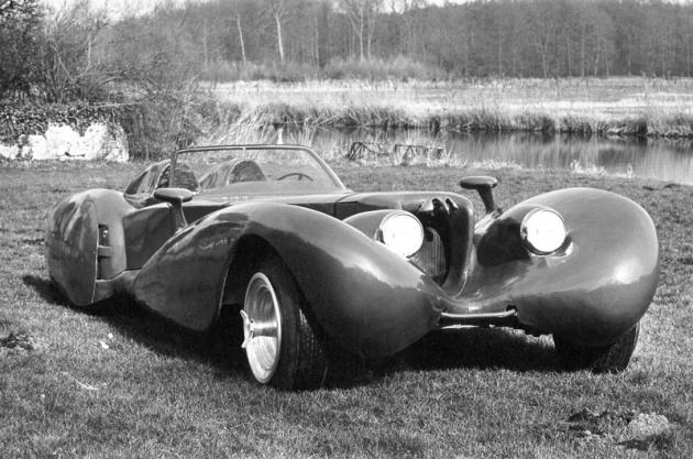 Colani Oldtimer 250 PS, studie automobilu pro radost z jízdy (1975)