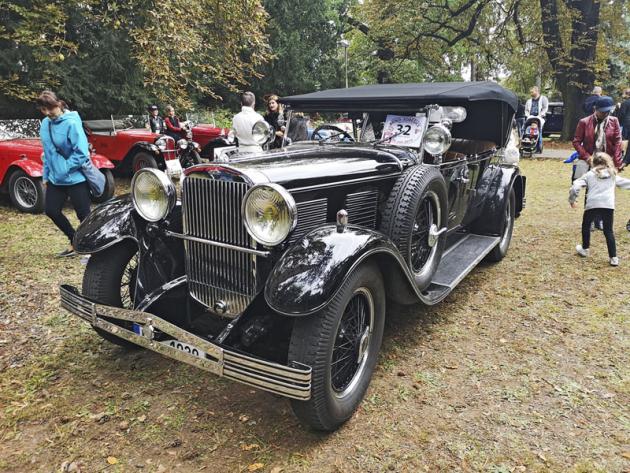 Československý prvorepublikový luxus: Walter Super 6 (1930)