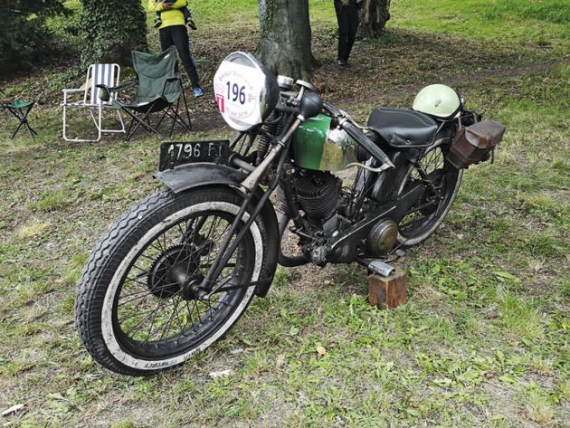 Ultima Lyon B2X (1930), produkt dávno zaniklé továrny z Francie