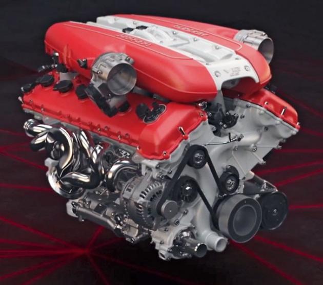 Dvanáctiválec F140 má úhel rozevření válců 65 stupňů a jeho předchůdce debutoval vroce 2002 ve voze Ferrari Enzo