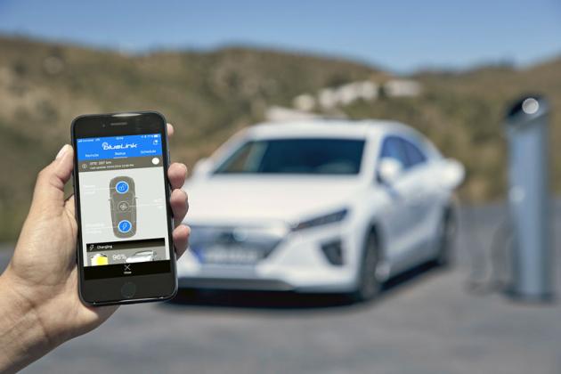 Aplikace BlueLink nabízí možnost dálkové správy řady funkcí vozu