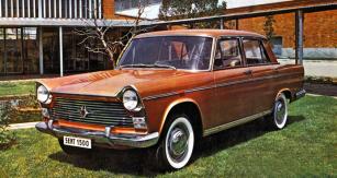 Seat 1500 na dobovém španělském prospektu coby model 1967