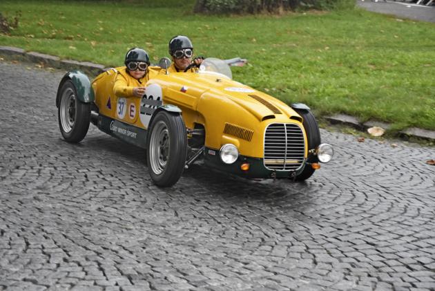 Aero Minor Sport (1949) pana Šmída bylo do původní podoby, v jaké závodilo v 50. letech, restaurováno roku 2018