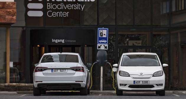 Škoda Citigoe iV a Škoda Superb iV