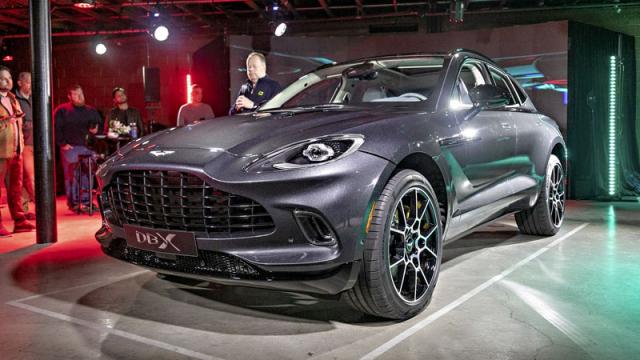 Aston Martin DBX: také tento slavný výrobce sportovních vozů podlehl vábení SUV...