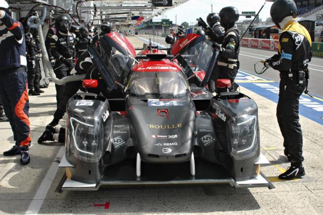 Na startu se objevily také vozy obnovené značky Ligier (na snímku Ligier JS P217 úspěšného čínského týmu Jackie Chan DCRacing)