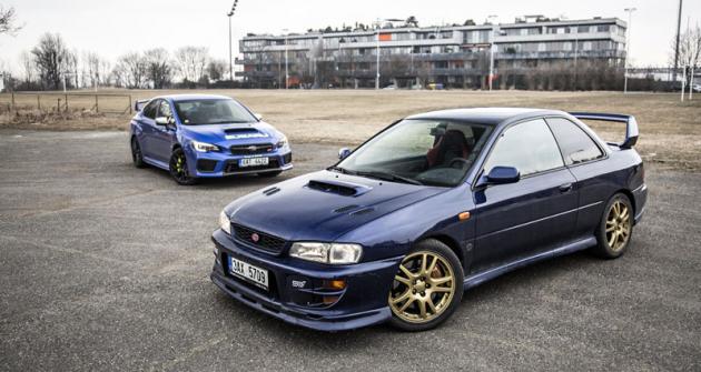 Subaru WRX STI vs. Subaru Impreza STI Type-R GC8G