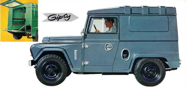 Krátký Austin Gipsy Panel Van G4 M10