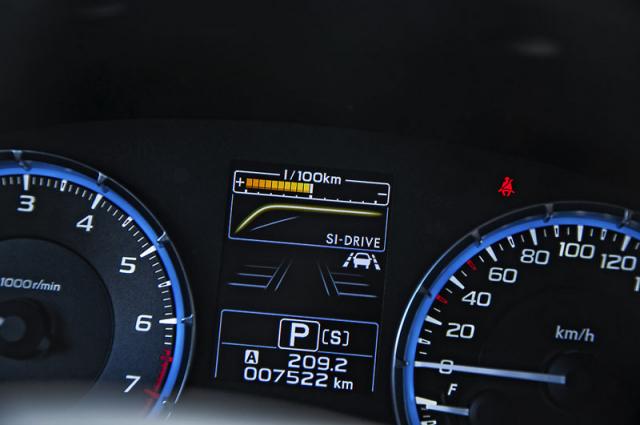 V rámci systému SI-Drive lze volit mezi režimy Intelligent a Sport. Odezva atmosférické jednotky je bezprostřední