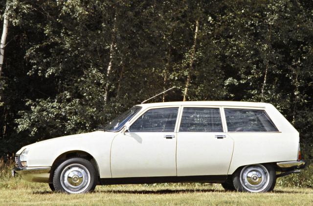 Citroën GS Break byl první pětidveřovou verzí a také jedinou do doby, než se objevila GSA svýklopnou zadní stěnou