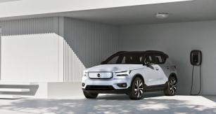 Volvo XC40 Recharge P8 AWD je prvním skutečně sériovým vozem Volvo na elektřinu