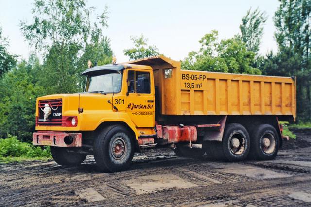 Těžká vozba DAF (NAT 2826 DKS)