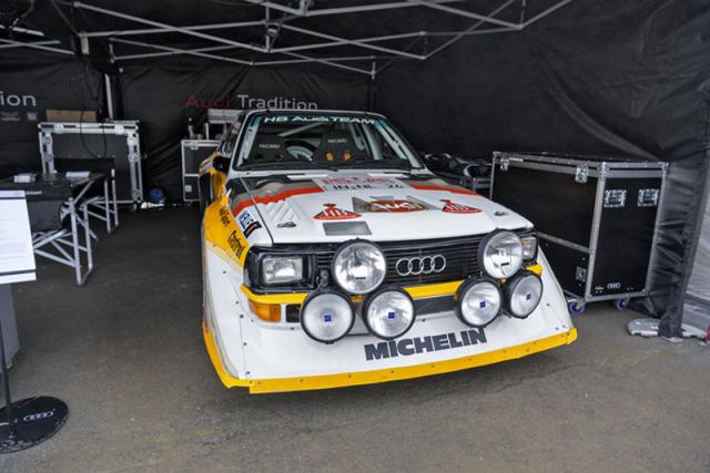 Audi Quattro S1 je jednou z největších rallyových legend historie, která svým příchodem zcela změnila pravidla hry