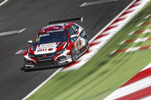 Tiago Monteiro (Honda Civic Type R TCR), bývalý jezdec formule 1, pojede letos už devátou sezonu pro Hondu