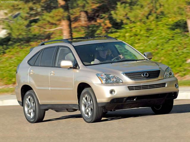 Lexus RX 450h (2004), první hybridní Lexus
