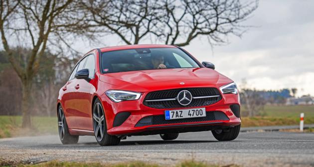Mercedes-Benz CLA Shooting Brake (X118) – Originální kombi