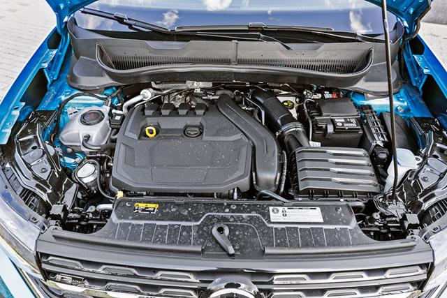 Zážehový motor 1.5TSI dodává automobilu této velikosti ahmotnosti suverénní dynamiku