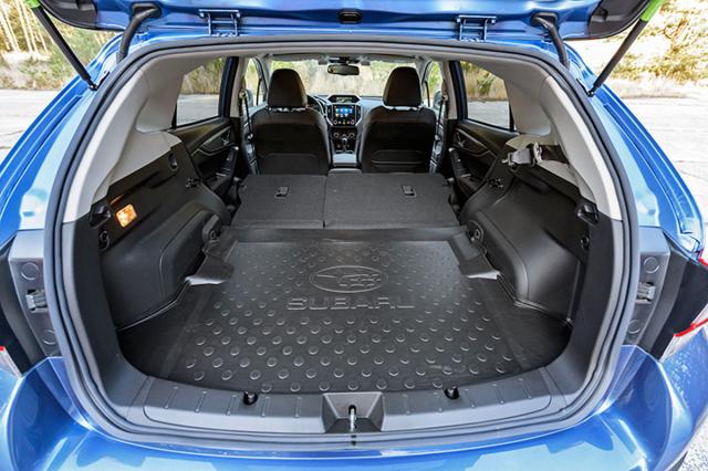Hybridní soustava nezmenšila hlavní část zavazadlového prostoru