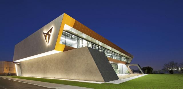 Nové centrum divize Cupra je umístěno přímo v továrně Seat vMartorellu nedaleko Barcelony