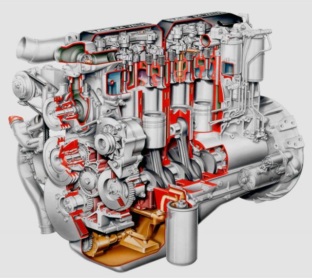 Motor DAF DK ATi z roku 1997