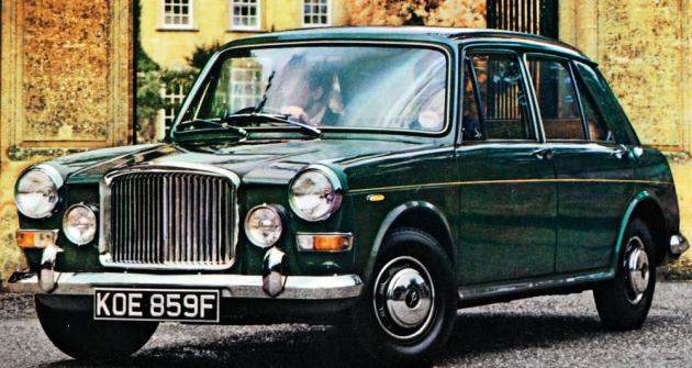 Vanden Plas Princess 1300, luxusní verze Austinu 1300 ze severolondýnského Kingsbury