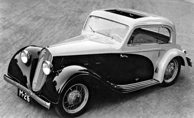 Kupé bez středních sloupků Walter Junior S s karoserií Sodomka (1934)