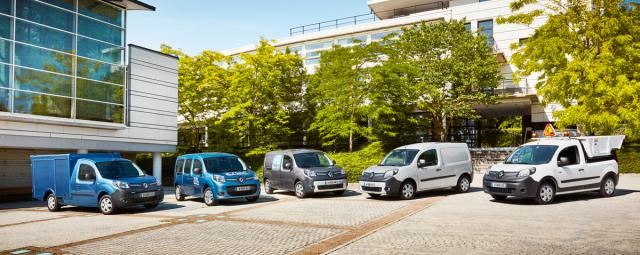 Paleta elektromobilů Renault Kangoo Z.E.
