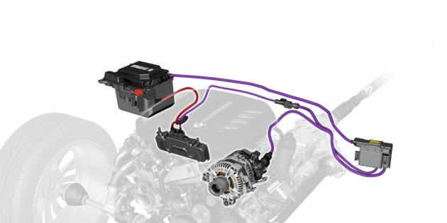 BMW mild-hybrid