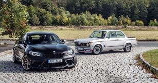 Bezmála padesát let rozdílu názorně ukazuje, kam pokročil vývoj kompaktních sportovních BMW