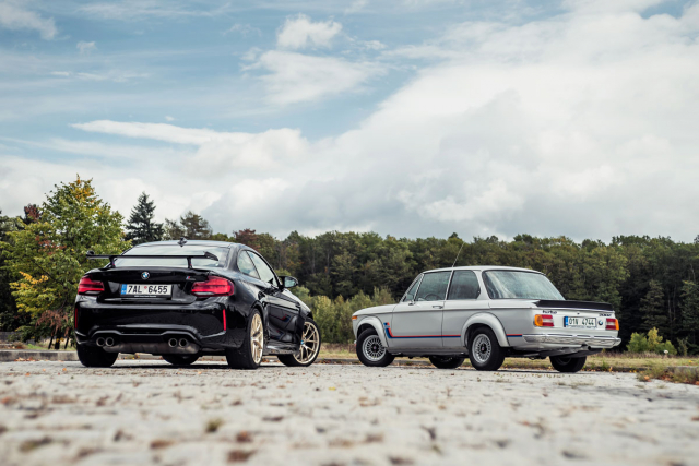 BMW 2002 Turbo vs. BMW M2 Competition