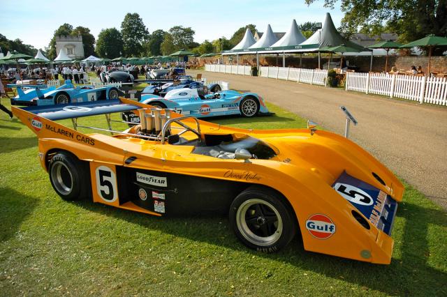 McLaren M20 (1972) postavili ve třech exemplářích. Poháněl jej nepřeplňovaný Small Block Chevrolet V8 8,34 litru. Denny Hulme s ním vybojoval ve Watkins Glen své 22. vítězství vCan-Am, McLaren 39. Koncem sezóny McLaren americkou sérii opustil ve prospěch F1