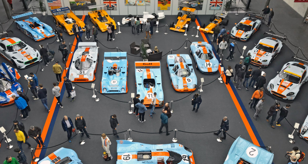Rofgo Collection – Oranžová a modrá