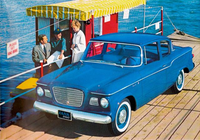 Jednou z šesti karosářských verzí byl dvoudveřový sedan