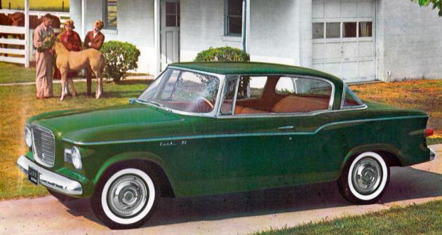 Studebaker Lark, tentokrát jako kompaktní kupé