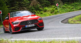 Mercedes-AMG GT 53 4Matic+ čtyřdveřové kupé